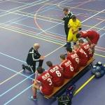 ZVV Urk/Bakkerij de Kof 1 dendert na stroef begin over Futsal Delfzijl heen