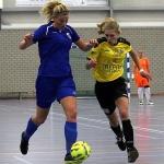 Het blijft spannend aan de (sub)top van de Eredivisie Vrouwen zaal