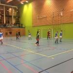 Zaalvrouwen Drs. Vijfje winnen in Amsterdam van technisch begaafd Zuidoost United