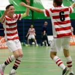 Winterzaalvoetbal competitie voor jeugd in Noord-Nederland