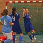 Halve finale Beker Landelijk en inhaalduel Eredivisie voor vrouwen zaal