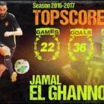 "Jamal el Ghannouti ""Topscorer Eredivisie 2016/2017"""