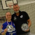 Prijsuitreiking beste coach, beste speler en topscorer van Eredivisie Vrouwen zaal 2016-2017