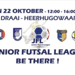 Zondag 22 oktober a.s. barst de Junior Futsal League los!