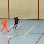 Zaalvrouwen vv Pernis winnen eerste finalewedstrijd van Play Off