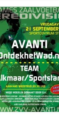 Affiche Avanti-Alkmaar.21092018