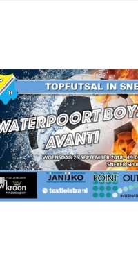 Affiche Waterpoort Boys-Avanti.26092018