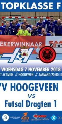 Affiche Hoogeveen-Futsal Dragten.07112018