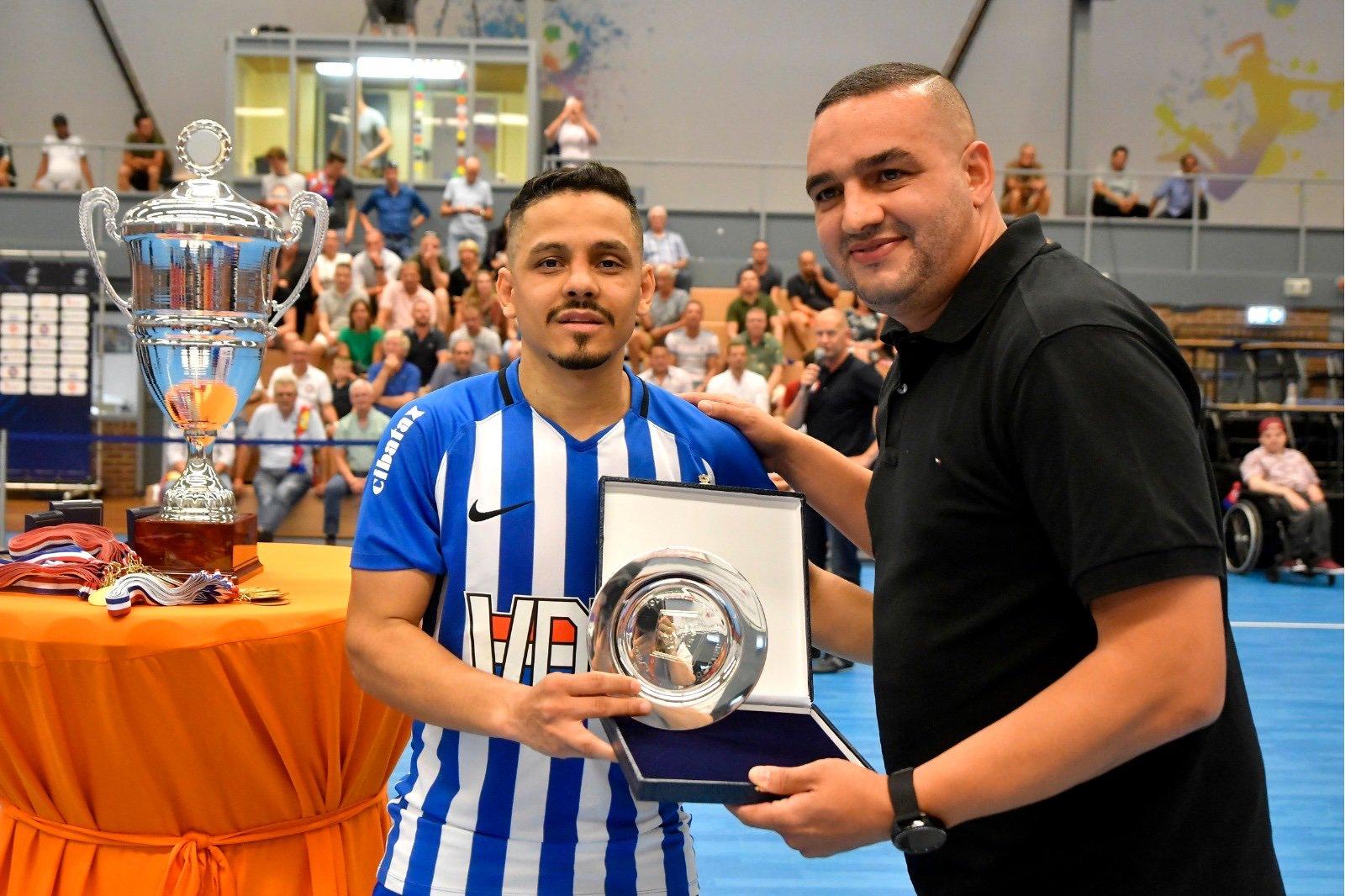 Raphinha Ortiz de Oliveira (Futsal Eindhoven) topscorer 2018/2019