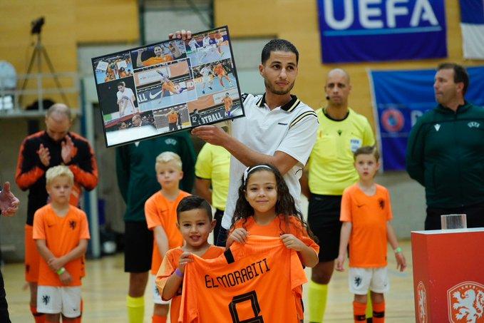 Zaid el Morabiti neemt officieel afscheid van Oranje