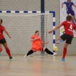Dames ZVG/Cagemax starten poulefase beker met ongelukkige nederlaag