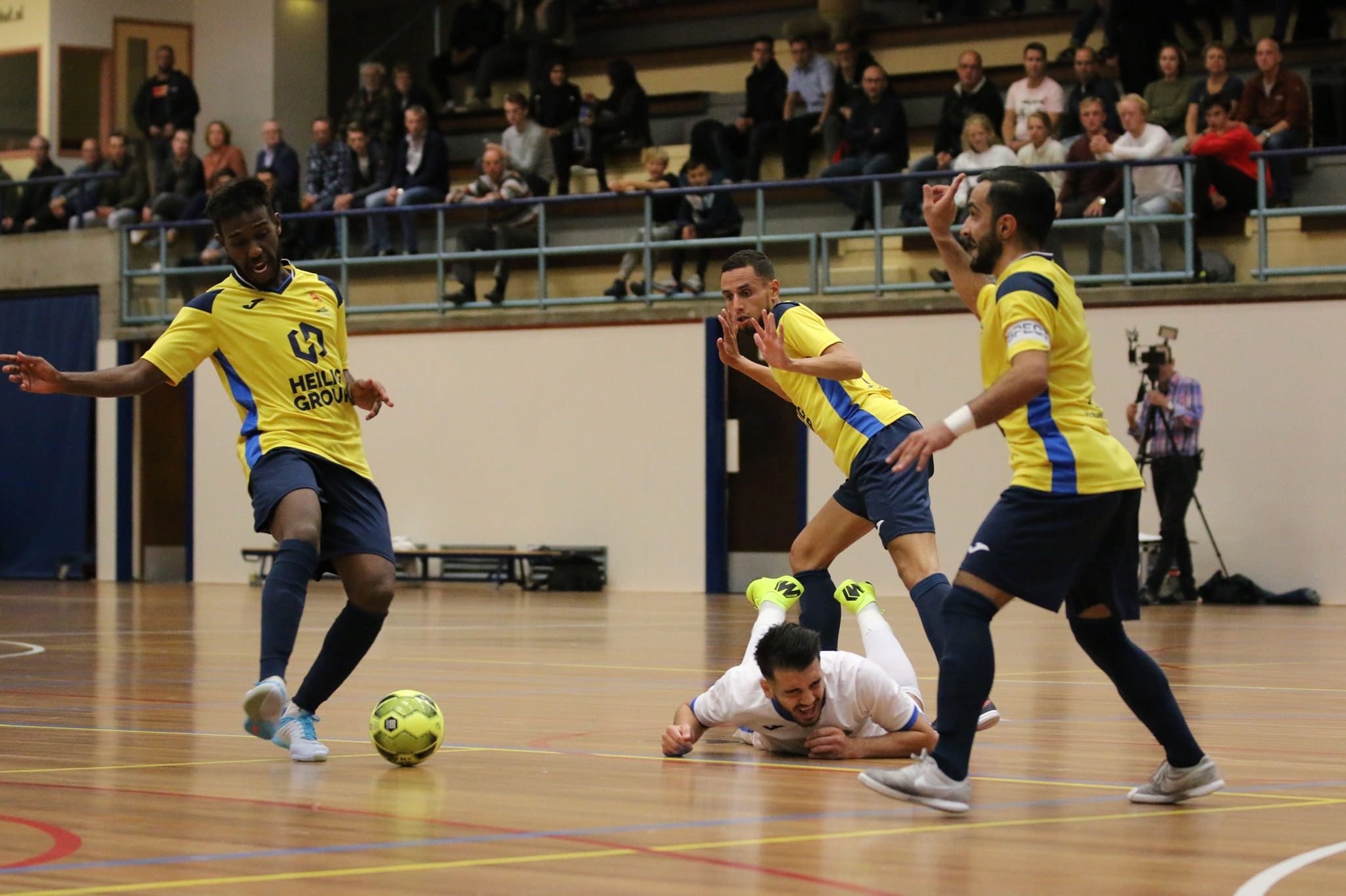 Veerhuys stunt tegen streekgenoot FC Marlène