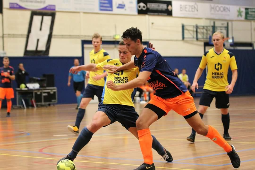 Gelijkspel voor HV/Veerhuys bij terugkeer in Eredivisie