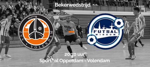 ZVV Volendam wint eerste bekerwedstrijd (incl. VIDEO)