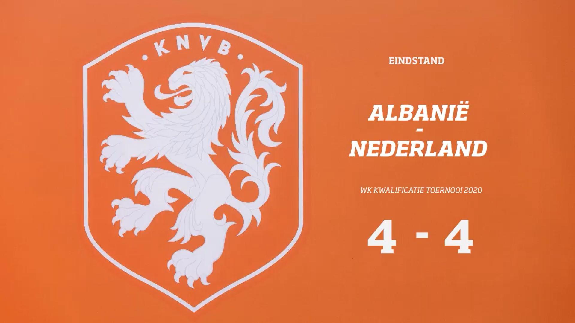 Slordig Oranje verspeelt voorsprong --en daarmee tevens kans op een ronde verder-- in slotminuut