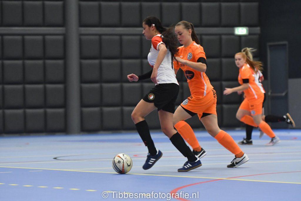 Feyenoord Futsal Vrouwen winnen van Drachtster Boys
