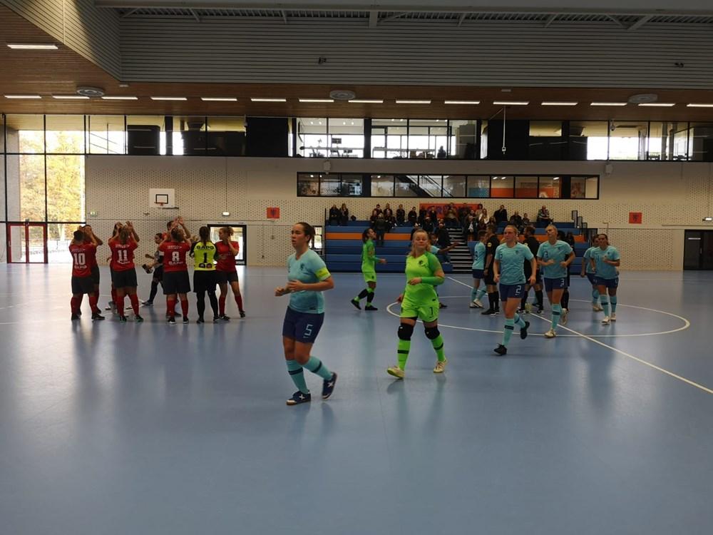 Leerzame oefenwedstrijd voor dames ZVG/Cagemax tegen Oranje