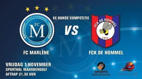 FC Marlène weet niet te winnen in de kraker