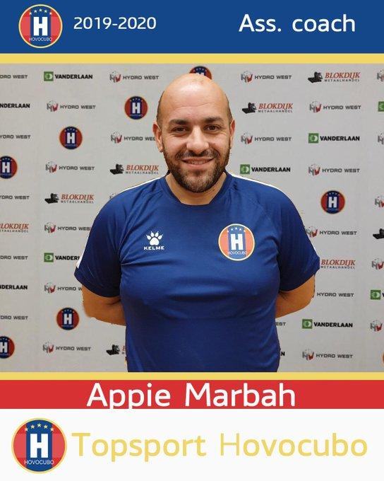 Hovocubo trekt Appie Marbah aan als assistent trainer