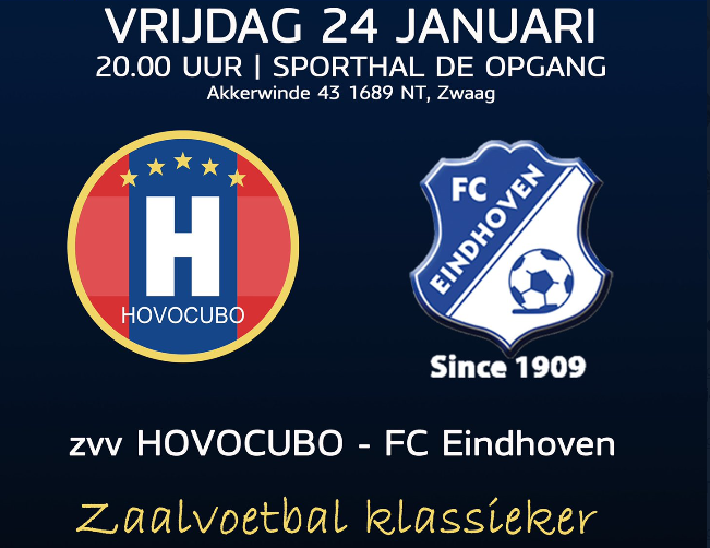 Hovocubo in moordend tempo langs directe concurrent FC Eindhoven