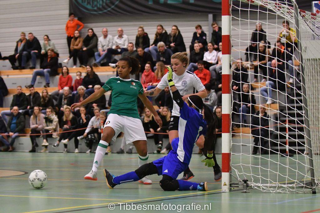 Keepsters bepalen eindstand Drachtster Boys VR1 tegen Feyenoord Futsal VR1
