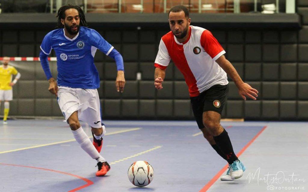 Feyenoord Futsal beëindigd goede reeks FC Marlène