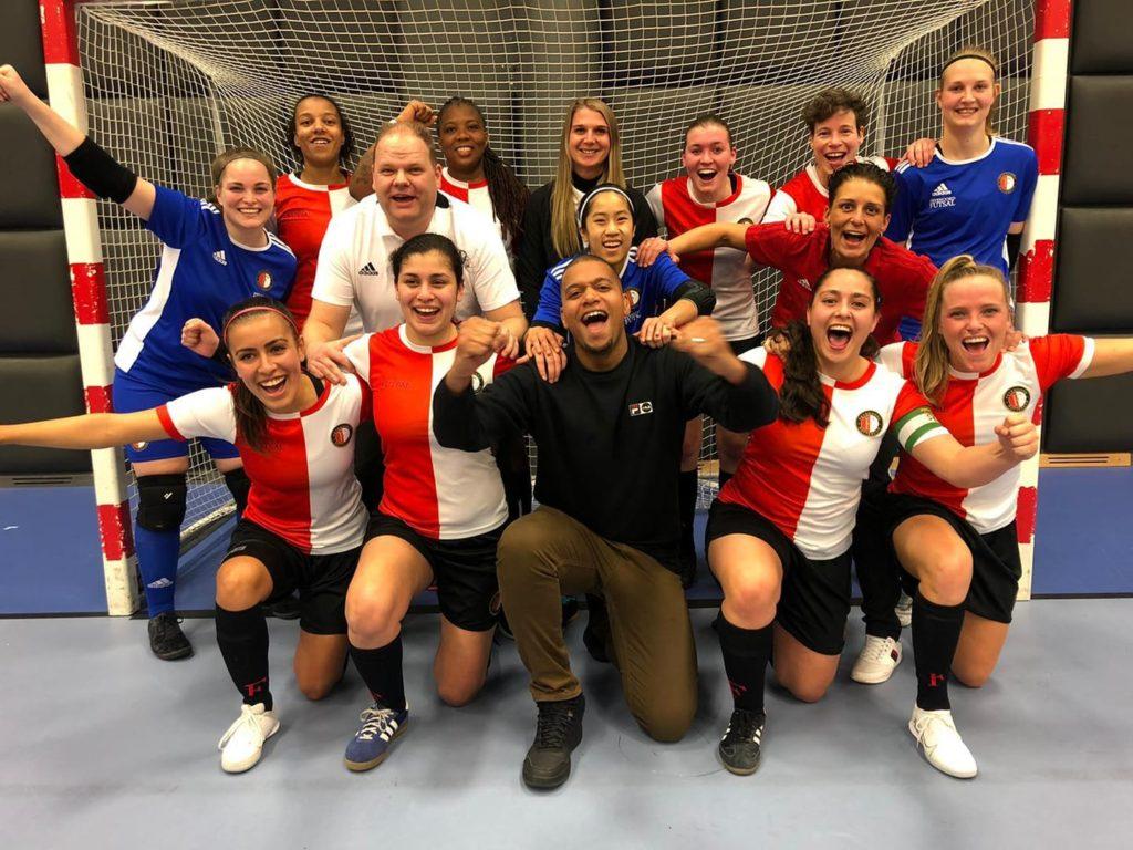 Feyenoord Futsal Vrouwen naar finale KNVB Beker