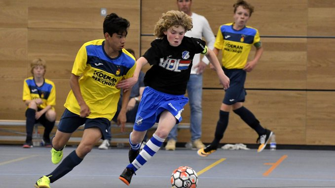 KNVB start met jeugdzaalvoetbal in Zeeland