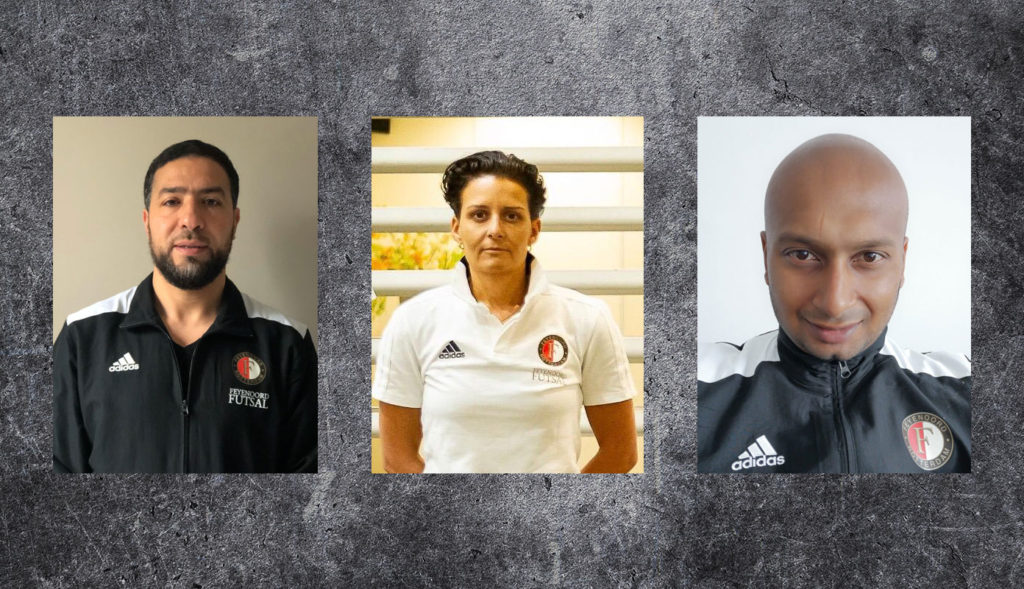 Feyenoord Futsal door met hoofdtrainers heren- en damesselectie