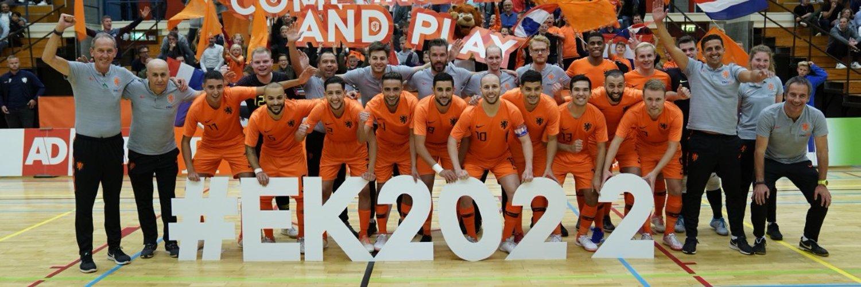 Zaalvoetballers oefenen tegen Duitsland