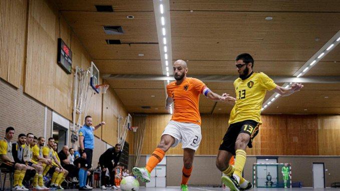 Zaalvoetballers spelen eind januari tegen België en Litouwen