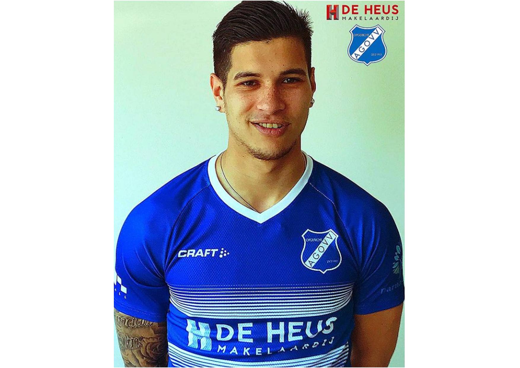 Aanvaller Jamarro Diks vanaf volgend seizoen wederom in het AGOVV-blauw!