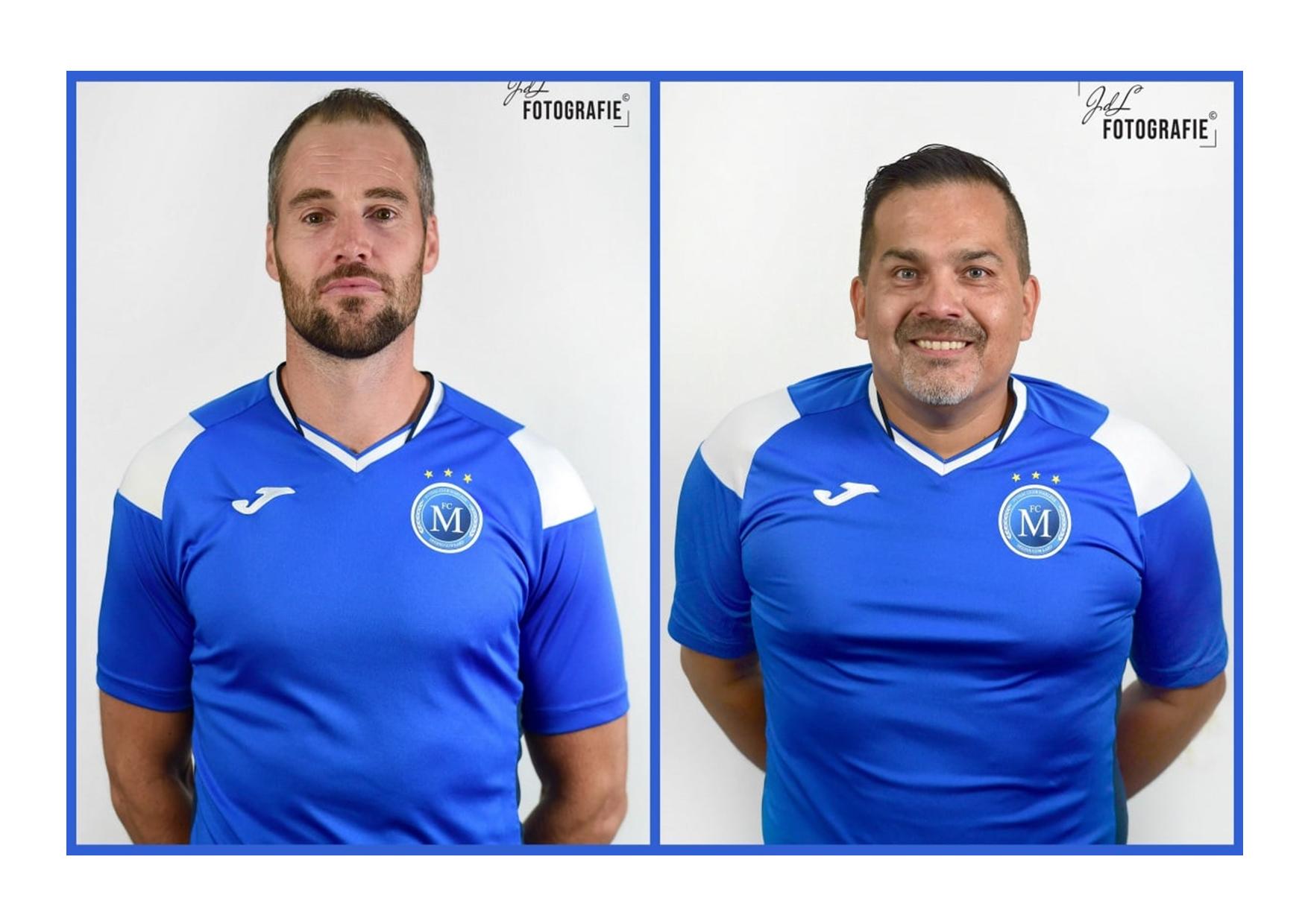 Jeroen de Groot nieuwe hoofdcoach FC Marlène; Carlo van der Waals technisch manager