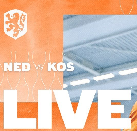 Oefeninterlands Oranje - Kosovo te volgen via livestream; FC Marlène hofleverancier