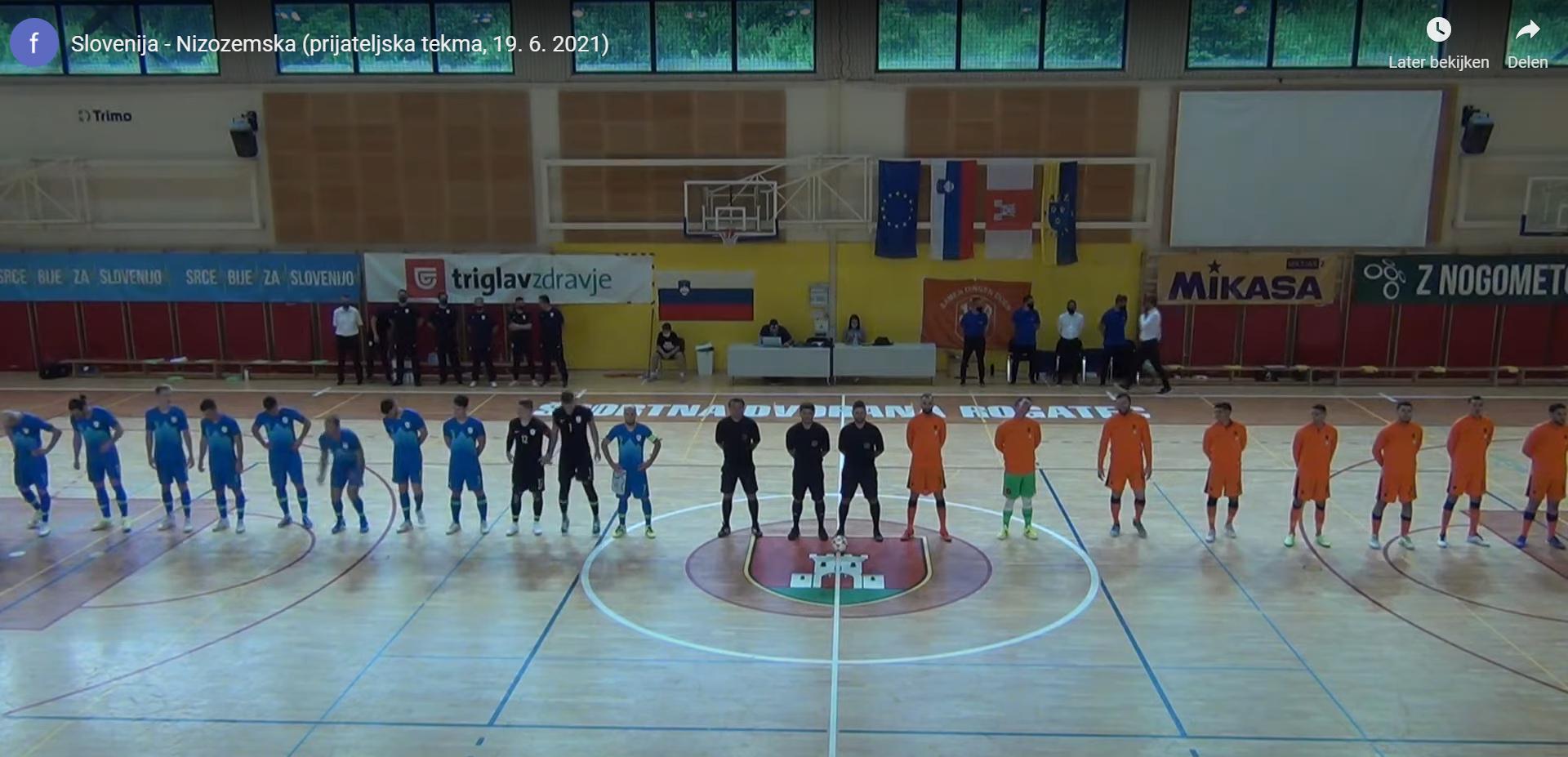 Oranje Futsal noteert een uitslag die staat (incl. VIDEO)