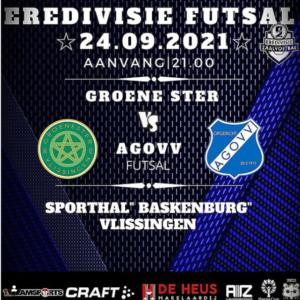 Zaalvoetballers AGOVV keren met drie punten terug uit Vlissingen