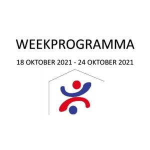 Weekprogramma (18 okt-24 okt)