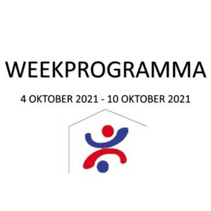 Weekprogramma (4 okt - 10 okt)