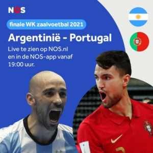 Finale WK-zaalvoetbal live op NOS.nl
